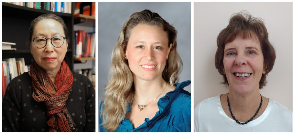 Sakiko Fukuda-Parr, Terra Lawson-Remer and Susan Randolph, winners of the 2019 Grawemeyer Award for Ideas Improving World Order